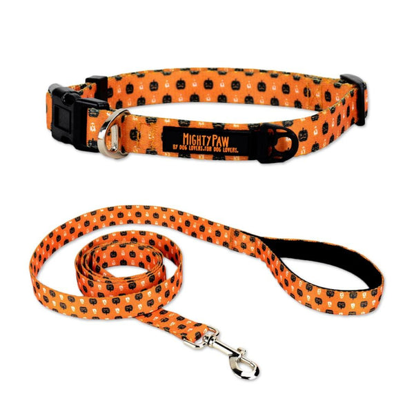 Halloween Dog Collar & Leash Bundle