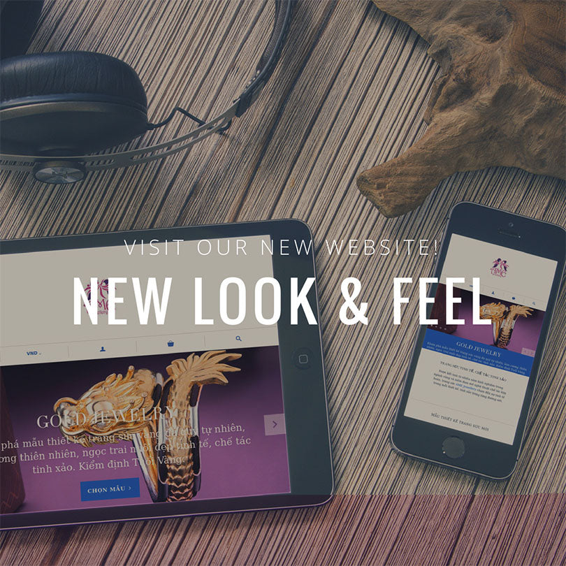 AMEJewellery.com: New Look and Feel
