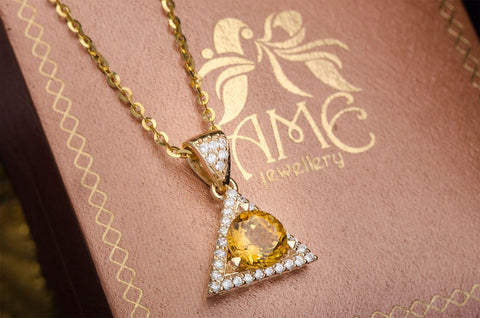 yellow gold jewelry - ame jewellery