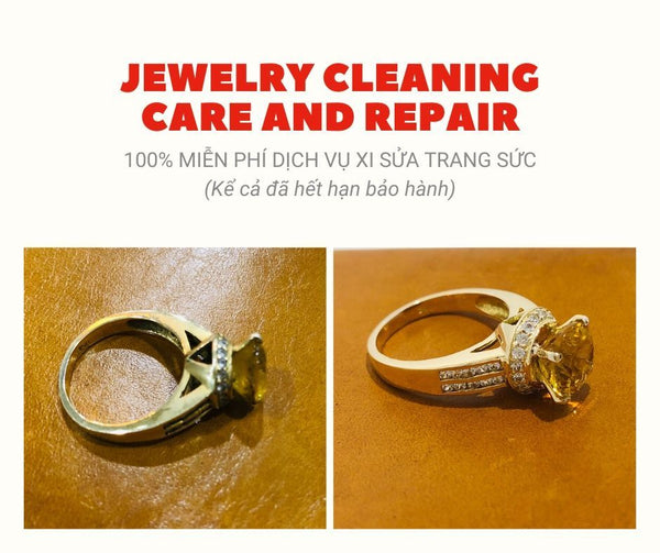 Xi sửa trang sức - AME Jewellery - jewelry cleaning care and repair