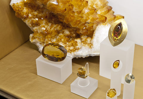 Top Citrine colors, Robert Weldon, GIA