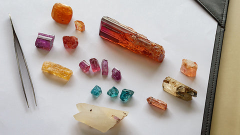 variety of Topaz colors