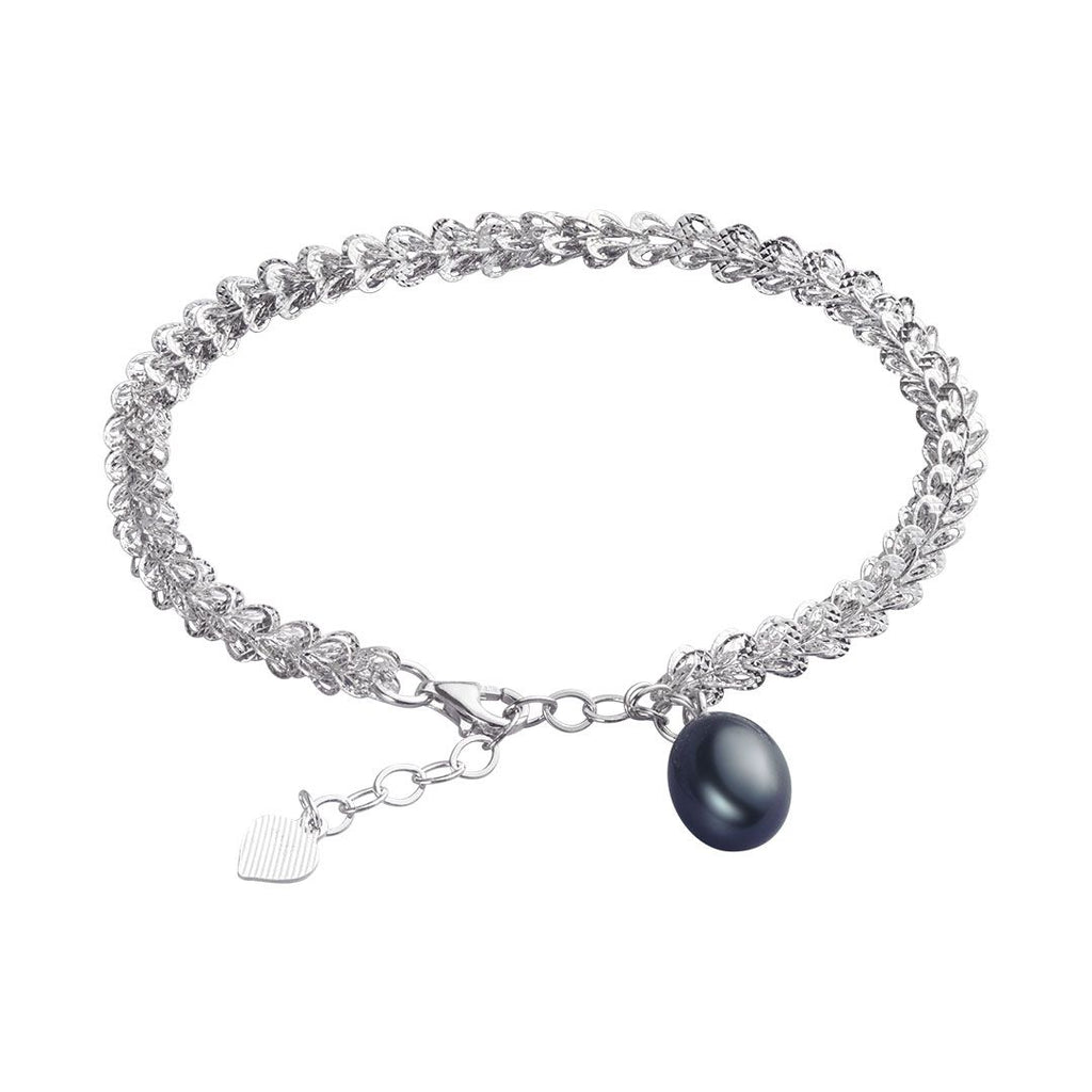 Lắc tay Ngọc trai nước ngọt Peacock Freshwater Pearl AME Jewellery