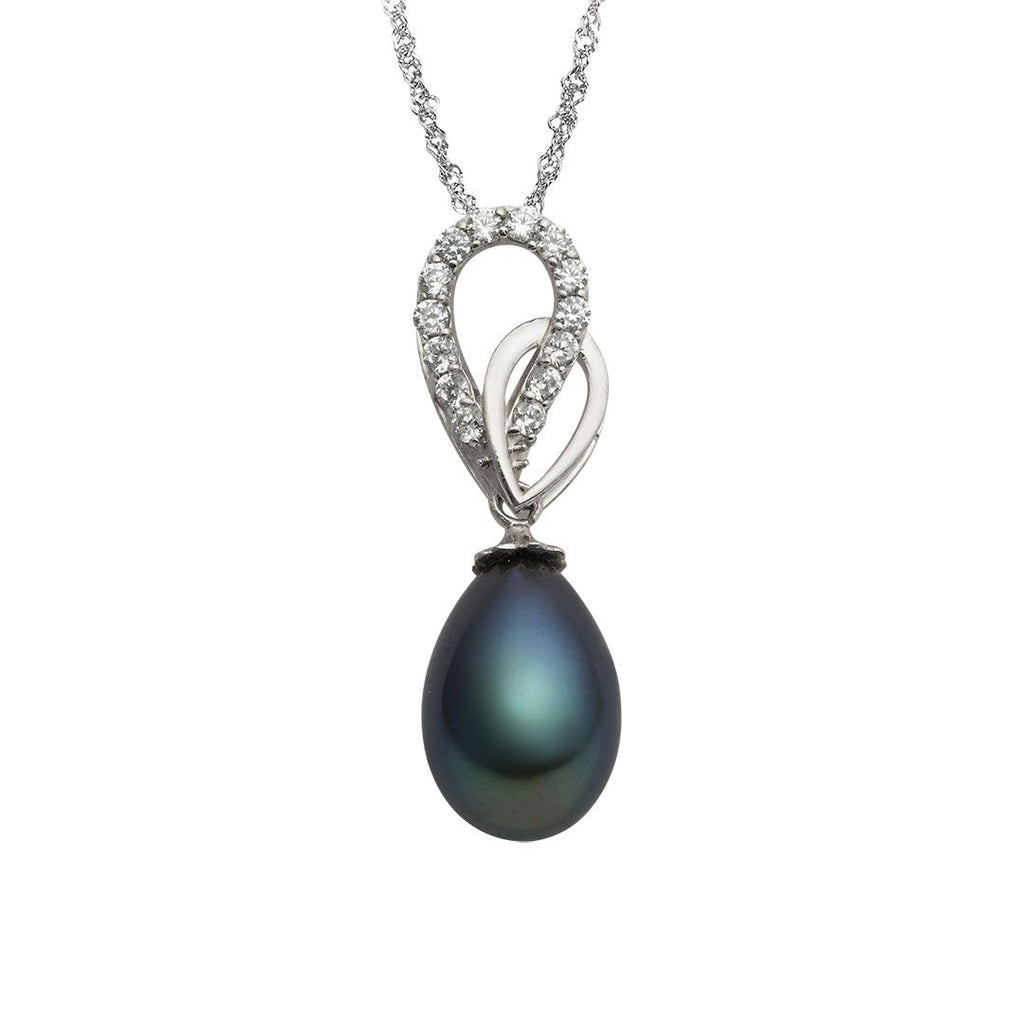 Mặt dây Ngọc trai Peacock Freshwater Pearl Pendant - AME Jewellery
