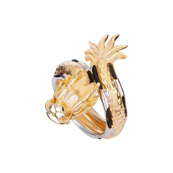 Dragon men ring in 18k gold - AME Jewellery