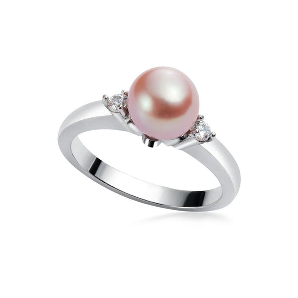 Nhẫn Ngọc trai Nước ngọt Lavender Freshwater Pearl Ring AME Jewellery