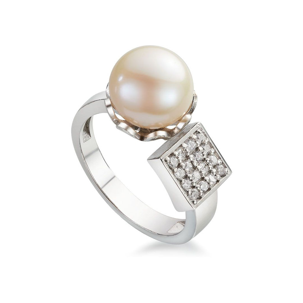 Nhẫn Ngọc trai Freshwater Pearl Ring - AME Jewellery