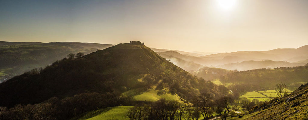 Dinas Bran Sunset