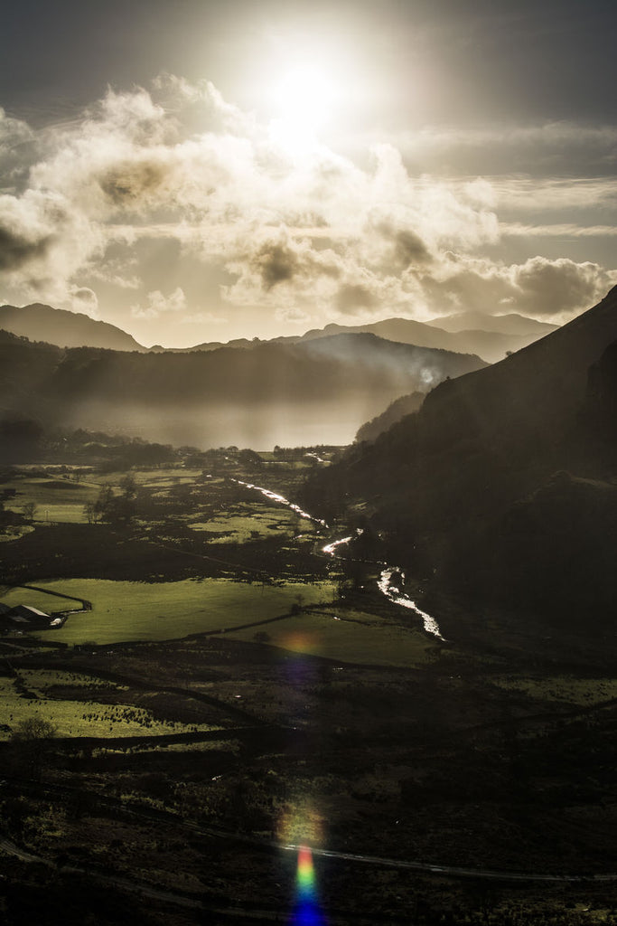 Gwynant Valley Sunset