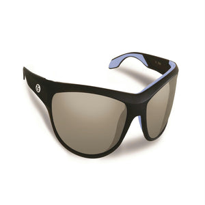 Flying Fisherman Cayo Matte Black and Smoke Lens Sunglasses