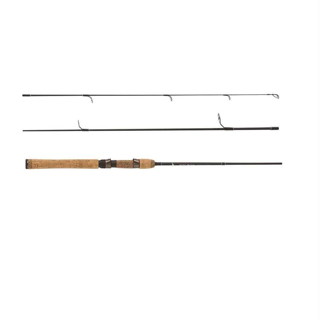 Eagle Claw Diamond Graphite Travel Rod 6ft 3 Piece Light