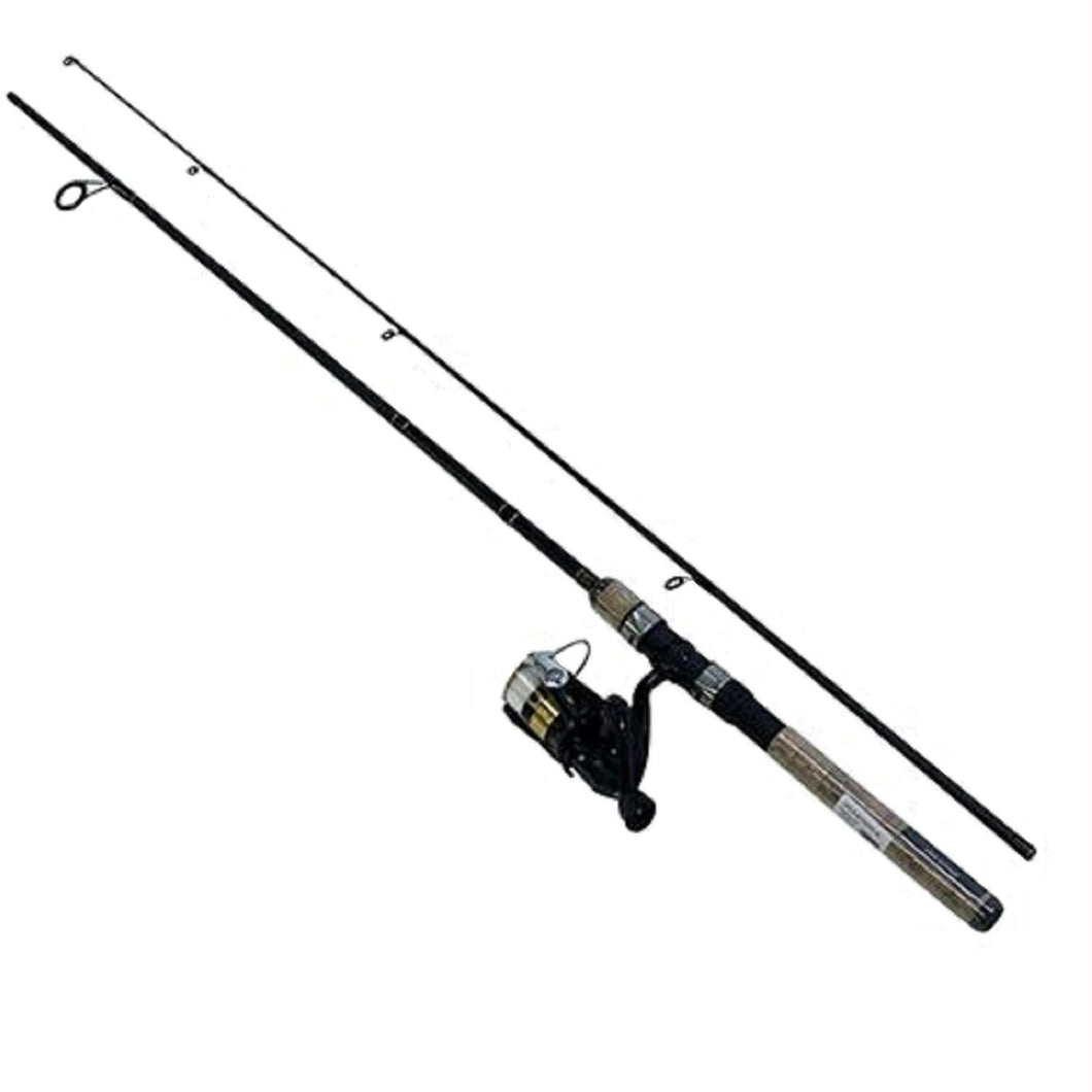 Daiwa D-Shock Reel and Rod Combo with Line 6ft Medium-Light