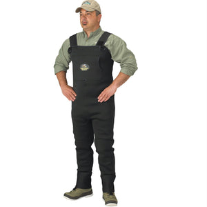 Caddis Men's Neoprene Stockingfoot Waders - Xlarge Green