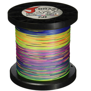 Daiwa Samurai Braid Filler Spool 300Y Green 20 lb. Test
