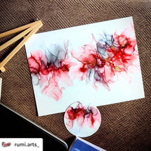 Nara Synthetic Waterproof Paper for Alcohol Ink Art - Rectangle