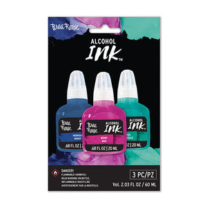 Brea Reese Alcohol Inks - Midnight/Berry/Teal (Set of 3)