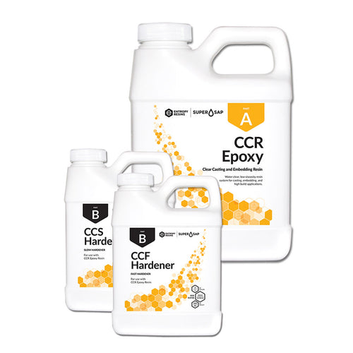 CCR Bioresin - Eco-friendly Clear Casting Epoxy Bioresin