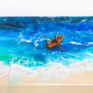 Seascape Resin art workshop