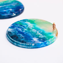 Seascape Beach Scene Coaster