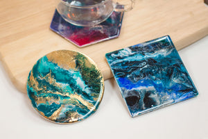 Resin Art Coasters (basic)