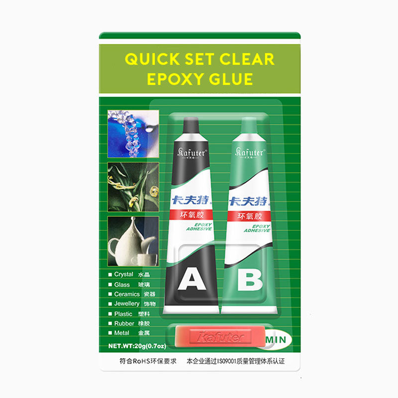 Quick Set Clear Epoxy Glue for Resin Jewellery