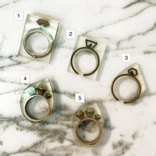 SAMPLE SALE - Rings (Size 6)