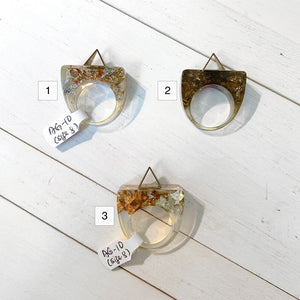 SAMPLE SALE - Rings (Size 8)