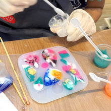 Mould-making and casting for resin jewellery