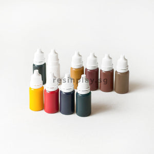 Water-based Acrylic Pigments - Box Set of 10 colours