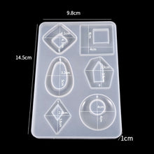Large Jewellery Pendants Silicone Mould - No Drill