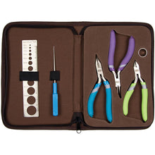 Jewellery Pliers & Cutter & Jump Ring Opener Tool Kit (6 Pc Comfort Set)