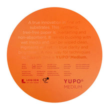 Legion Yupo Waterproof Paper for Alcohol Ink Art - Round