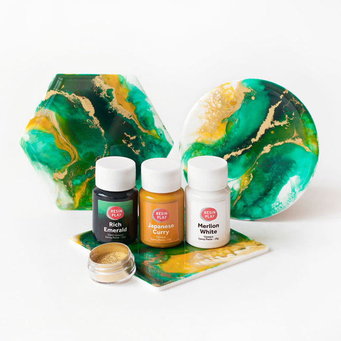 Resin Art Pigment Set - Lush Symphony
