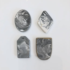 SAMPLE SALE - Small Marble Pendants