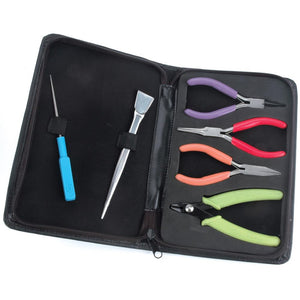 Jewellery Pliers & Cutter Tool Kit (6 Pc Essential Set)