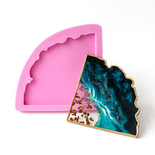 Handmade Agate Slice Coaster Silicone Mould