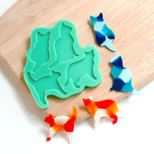 Handmade Multi Cat Shapes Silicone Mould
