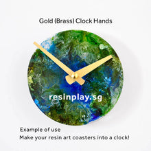 Clock Hands for Resin Artworks (Clock Movement Not Included)