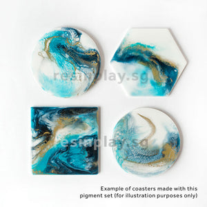 Resin Art Pigment Set - Deep River