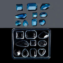 Faceted Gemstones Silicone Mould