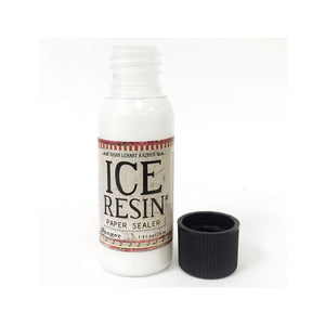 Ice Resin Paper Sealer (1oz) - To Seal Paper or Images for Embeddeding in Resin