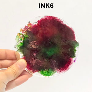 SAMPLE SALE - Alcohol Ink Burst Coasters