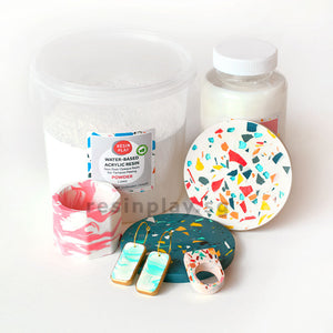 *New Size* Water-based Acrylic Resin Starter Kit