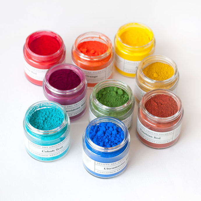 Langridge Artists Dry Ground Pigment for Resin Art (120ml)