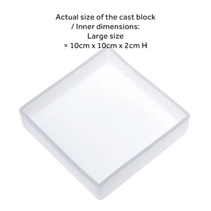 Square Block Silicone Mould