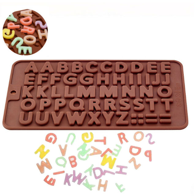 Alphabet 26 Letters Silicone Mould