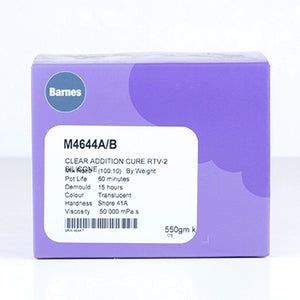 M4644 Food Grade Translucent Silicone Rubber (550g)