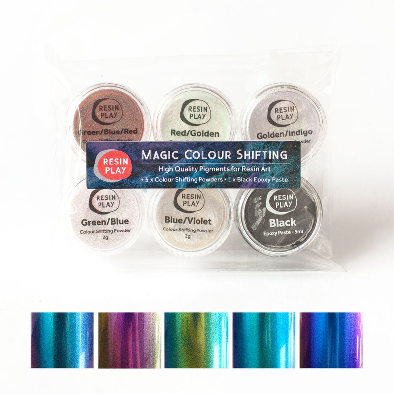 Magic Colour Shifting Pigment Set