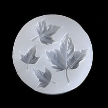 Maple Leaves Silicone Mould