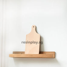 Natural Beech Wood Serving Board / Cheese Board for Resin Art